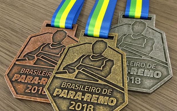 Medalhas do Campeonato Brasileiro de Para-Remo 2018