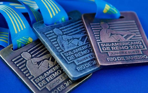 Medalhas do Campeonato Sul-Americano de Remo Júnior e Sub 23 2019