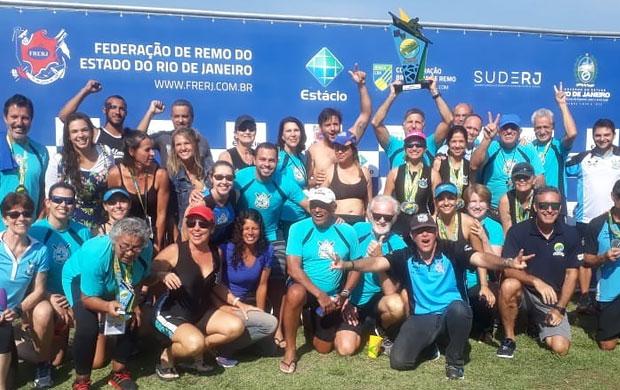Guanabara vence o Brasileiro de Remo Máster 2019 com 31 vitórias