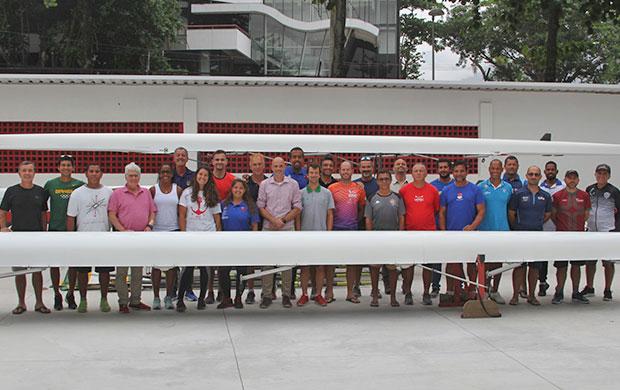 Ao todo, 24 técnicos de nove estados participaram do curso no Rio de Janeiro