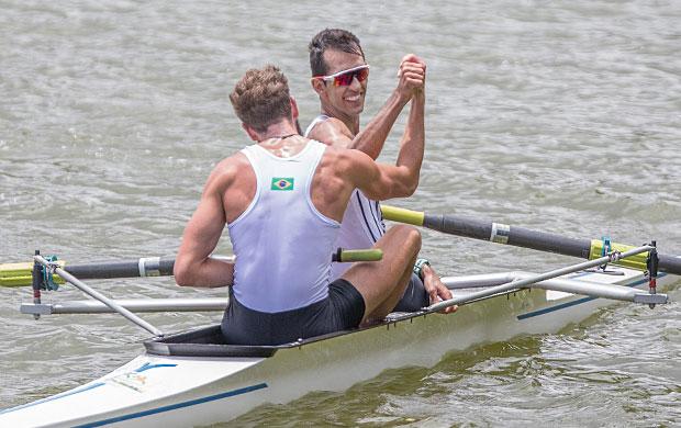 Gabriel Campos e William Giaretton, do Corinthians (SP), ouro no Dois Sem masculino